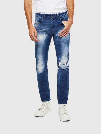 Diesel - Thommer JoggJeans 0099S, Dark Blue - Jeans - Image 1