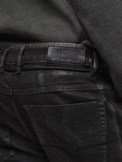 Diesel - D-Luhic JoggJeans 0092W, Black/Dark grey - Jeans - Image 5