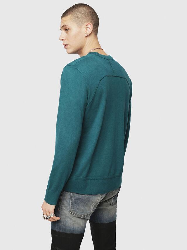 Diesel - K-LAUX, Dark Green - Knitwear - Image 2