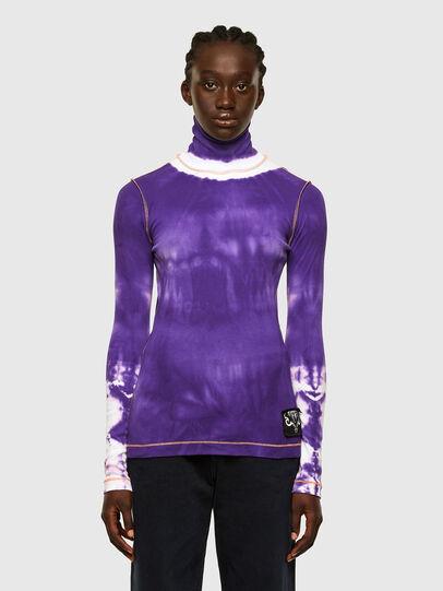 Diesel - T-LAPIS, Violet - T-Shirts - Image 1