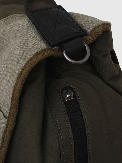 Diesel - VOLPAGO BACK ARMY, Olive Green - Backpacks - Image 5