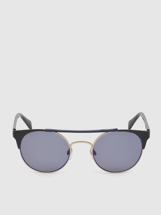 Diesel DL0218, Black/Blue - Eyewear - Image 1