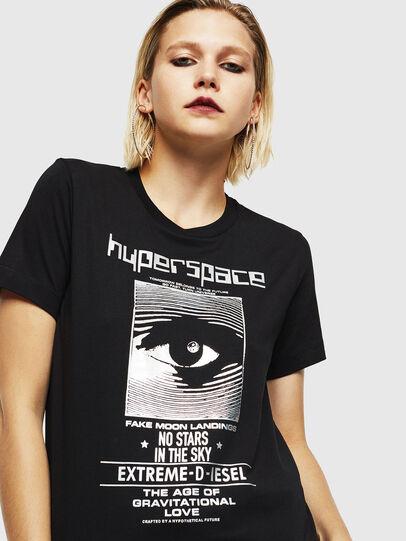 Diesel - T-SILY-YB, Black - T-Shirts - Image 3