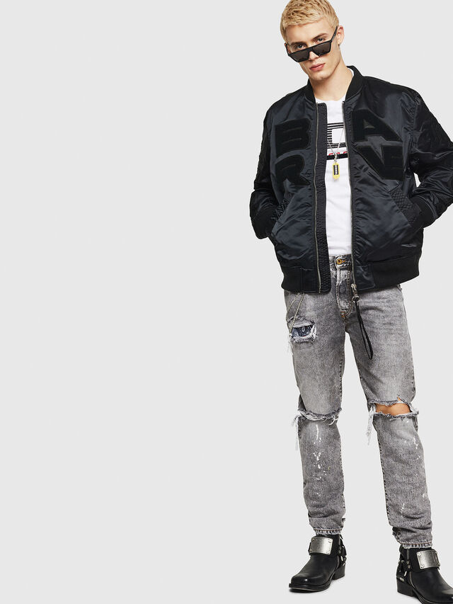 Diesel - J-IWAHO-LIGHT, Black - Jackets - Image 6