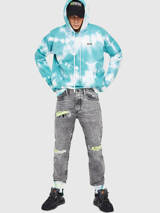 Diesel - Mharky 089AT, Light Grey - Jeans - Image 6