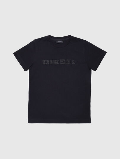 Diesel - TJFLAVIAY, Black - T-shirts and Tops - Image 1