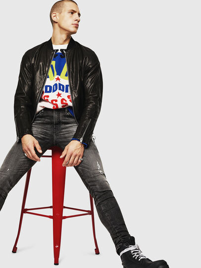Diesel - L-DAVIDOV,  - Leather jackets - Image 6