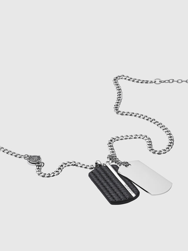 Diesel NECKLACE DX1040, Silver - Necklaces - Image 2