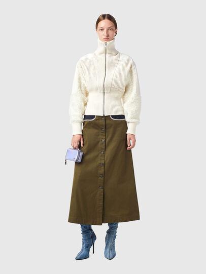 Diesel - M-WISCONSIN, White - Knitwear - Image 5