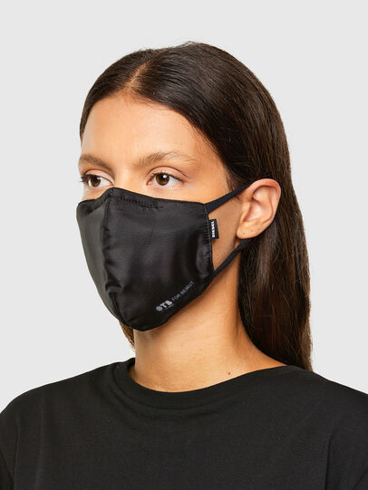 Diesel - FACEMASK-OTBXBEIRUT, Black - Other Accessories - Image 3