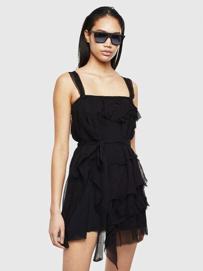 Diesel - D-GIULY, Black - Dresses - Image 1