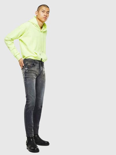 Diesel - Thommer JoggJeans 069KK, Black/Dark grey - Jeans - Image 6