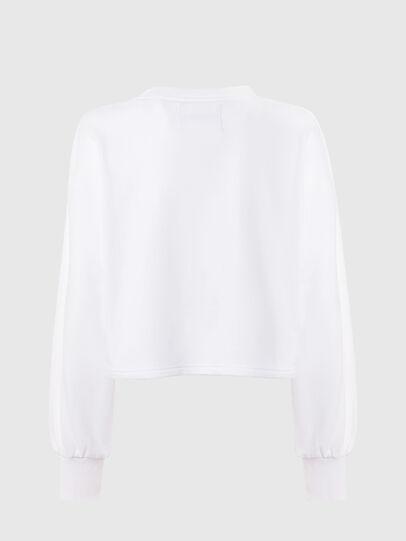 Diesel - UFTL-FELPH, White - Sweaters - Image 2