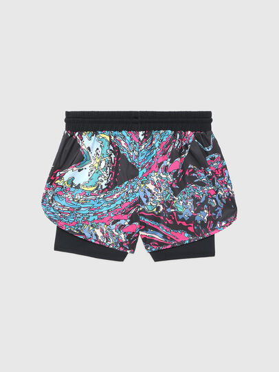 Diesel - BFOWT-FAUSTIN-SH-W, Black/Pink - Swim shorts - Image 2