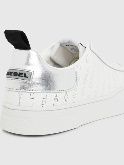 Diesel - S-CLEVER LOW LACE, White/Silver - Sneakers - Image 4