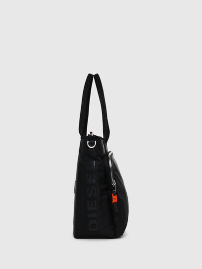 Diesel - BAGOTE, Black - Shopping and Shoulder Bags - Image 3