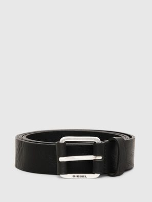 B-LOG, Black Leather - Belts