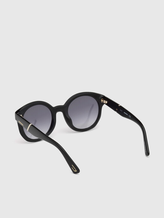 Diesel - DL0252, Black - Sunglasses - Image 2