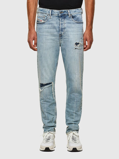 Diesel - D-Vider 009JR, Light Blue - Jeans - Image 1