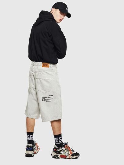 Diesel - D-RON, White - Shorts - Image 4