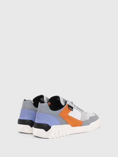 Diesel - S-RUA LOW90, Grey - Sneakers - Image 3