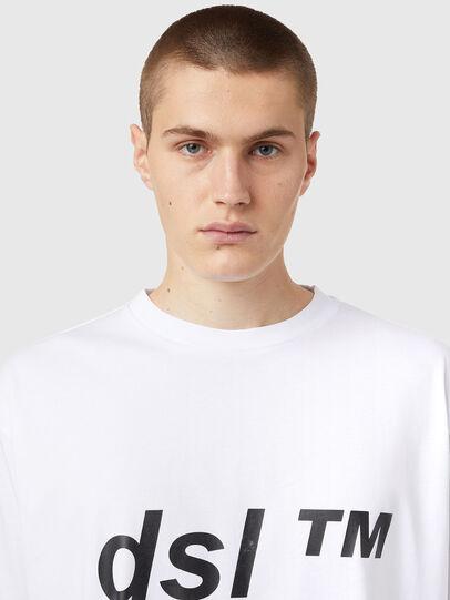 Diesel - T-BALM, White - T-Shirts - Image 3