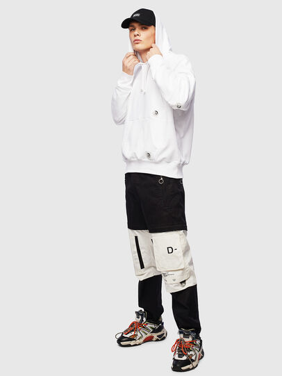 Diesel - S-ALBY-POCKETS, White - Sweaters - Image 5