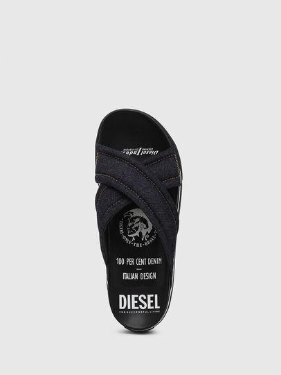 Diesel - SA-GRAND X, Blue Jeans - Sandals - Image 5