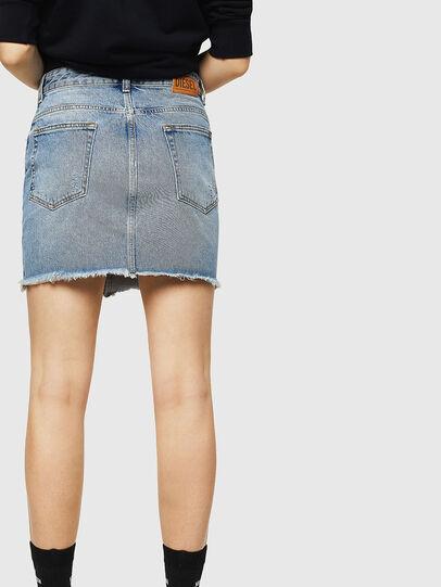 Diesel - DE-ELLE, Light Blue - Skirts - Image 2
