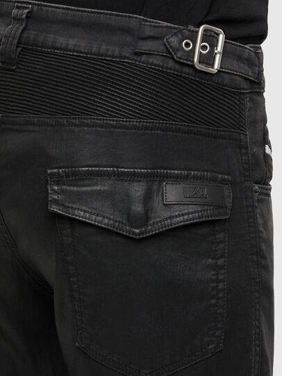 Diesel - D-Derrot JoggJeans 069QY, Black/Dark grey - Jeans - Image 4