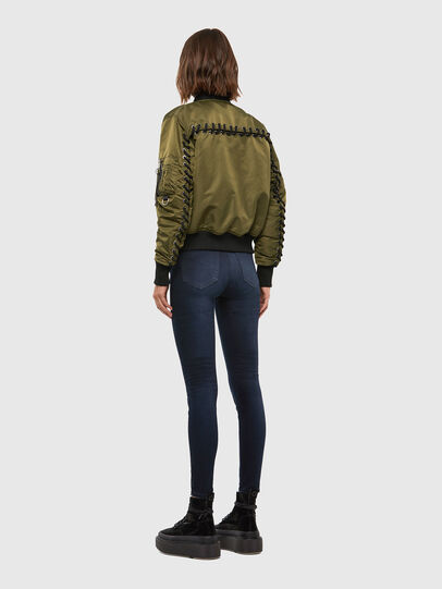Diesel - W-SWING, Military Green - Winter Jackets - Image 6