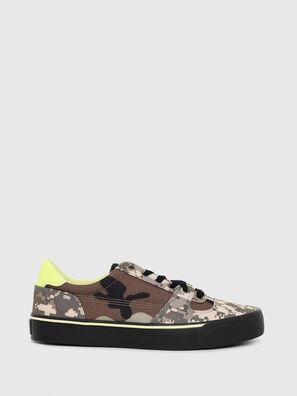 S-FLIP LOW, Marron Military - Sneakers