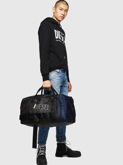 Diesel - M-CAGE DUFFLE M, Black - Travel Bags - Image 7
