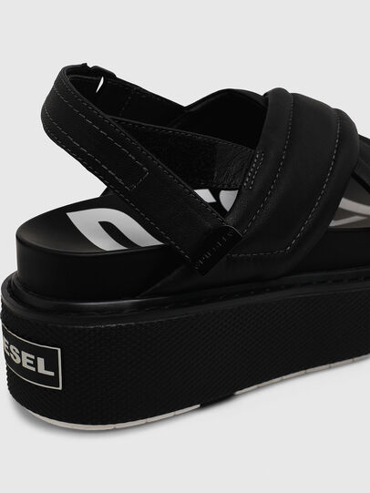Diesel - SA-SCIROCCO XR, Black - Sandals - Image 4