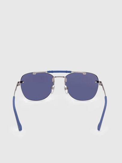Diesel - DL0340, Blue - Sunglasses - Image 4