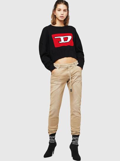 Diesel - Krailey JoggJeans 0670M, Beige - Jeans - Image 5