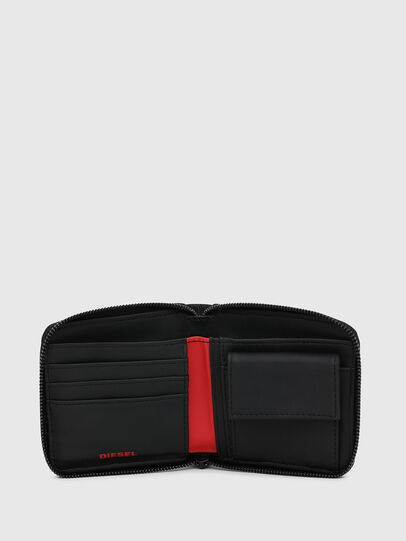 Diesel - ZIPPY HIRESH S, Black - Zip-Round Wallets - Image 3