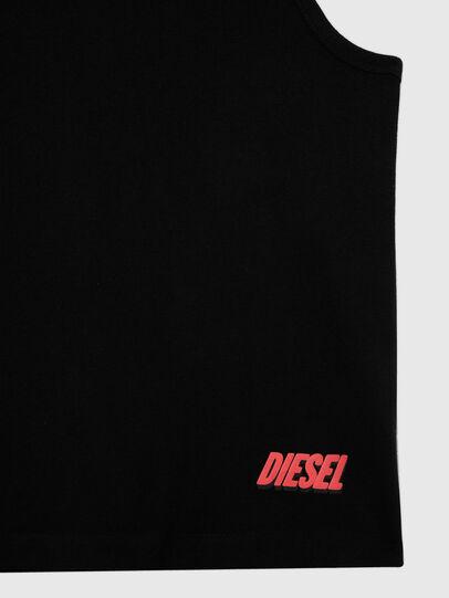Diesel - UMTK-LOCO-ELAS, Black - Tops - Image 3