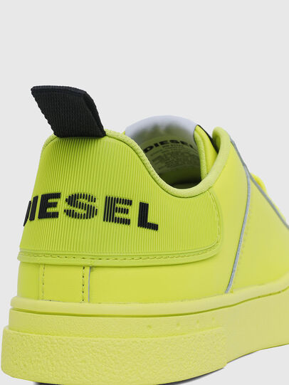 Diesel - S-CLEVER LOW LACE W, Yellow Fluo - Sneakers - Image 5