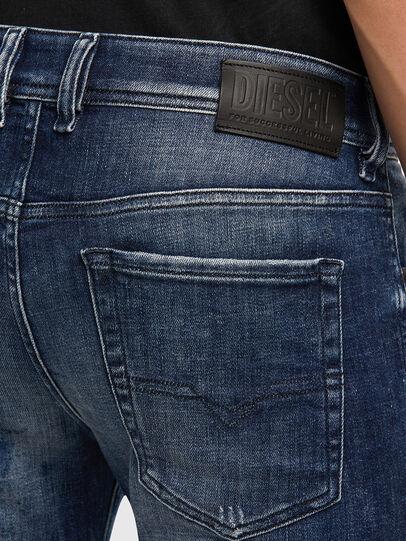 Diesel - Sleenker 009JM, Dark Blue - Jeans - Image 5