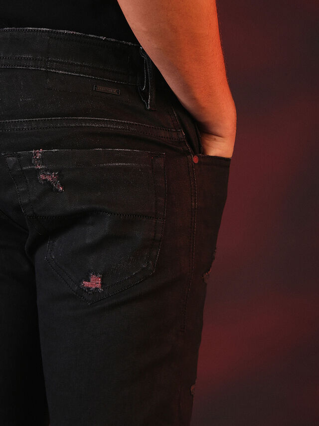 Diesel - THOMMER 084XX, Black - Jeans - Image 7