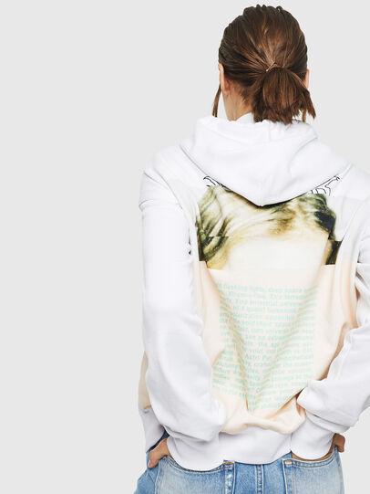 Diesel - F-ALBYHOOK, White - Sweaters - Image 2