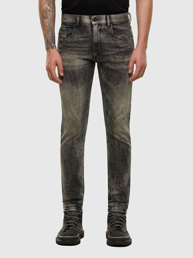 D-Strukt 009EV, Black/Dark grey - Jeans