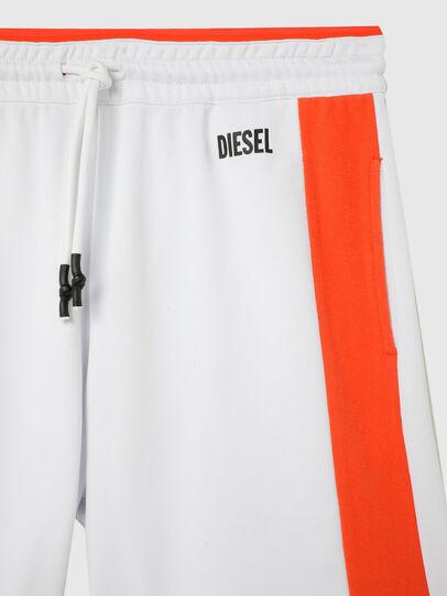 Diesel - UMLB-PAN-SP, White/Orange - Pants - Image 3