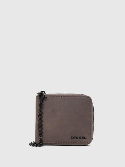 Diesel - ZIPPY HIRESH S WITH, Dark grey - Zip-Round Wallets - Image 1