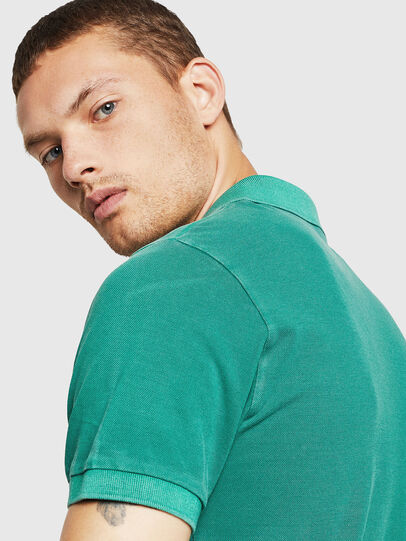 Diesel - T-KAL-2, Green - Polos - Image 4
