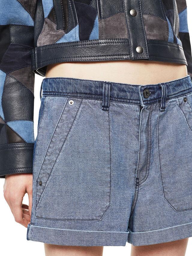 Diesel - SHANTELLE, Blue Jeans - Shorts - Image 6