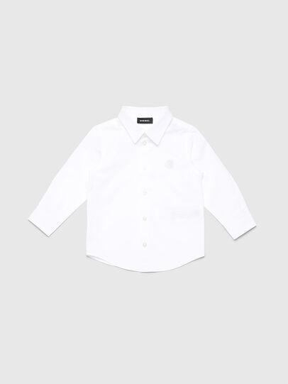 Diesel - CSBILLB, White - Shirts - Image 1