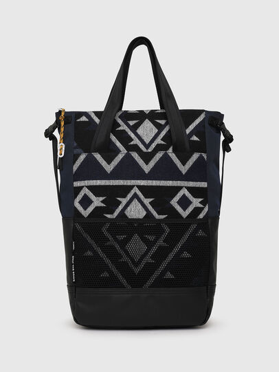 Diesel - ALASK, Dark Blue - Shopping and Shoulder Bags - Image 4