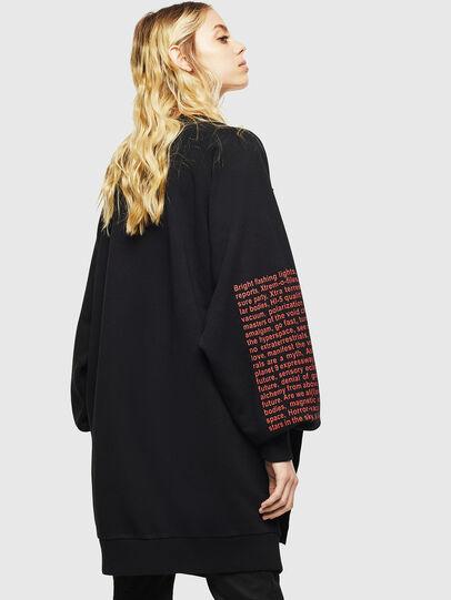 Diesel - F-EYET-A, Black - Sweaters - Image 2